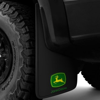 Plasticolor® - Equipment Logo Mud Flaps with John Deere Logo