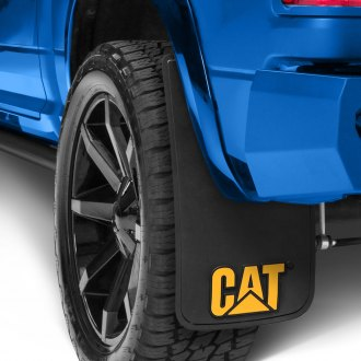 Plasticolor® - Equipment Logo Mud Flaps with Cat Logo