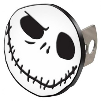 "Plasticolor® - Hitch Cover with Nightmare Before Christmas Jack Head Logo for 2"" Receivers"