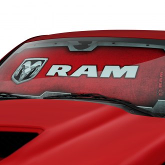Plasticolor® - Ram Logo Accordion Sun Shade