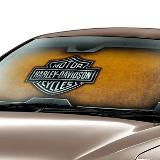 Plasticolor® - Harley-Davidson Logo Accordion Sun Shade