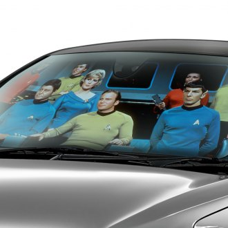 Plasticolor® - Star Trek Accordion Bubble Sun Shade
