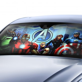 Plasticolor® - Marvel New Avengers Bubble Accordion Sun Shade