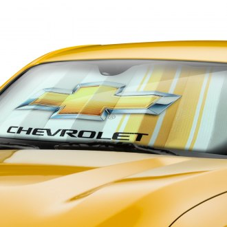 Plasticolor® - Chevy Racing Logo Bubble Accordion Sun Shade