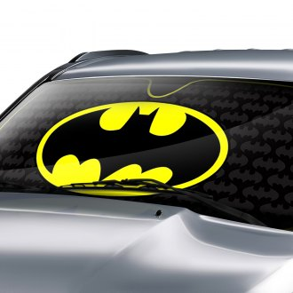 Plasticolor® - DC Batman Logo Bubble Accordion Sun Shade