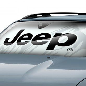 Plasticolor® - Jeep Logo Bubble Accordion Sun Shade