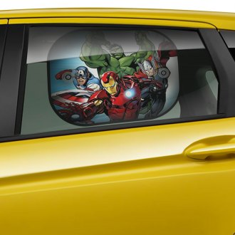 Plasticolor® - Marvel New Avengers Side Window Mesh Sun Shades