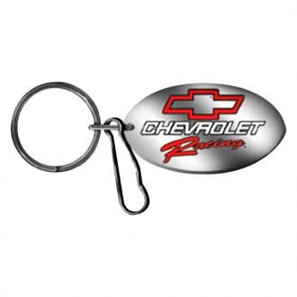 Plasticolor® - Chevy Racing Log Key Chain with Clip
