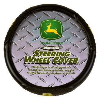 Plasticolor® - John Deere Logo Steering Wheel Cover