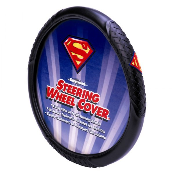 Plasticolor® - Steering Wheel Cover with DC Superman Logo