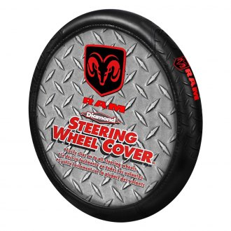 Plasticolor® - Steering Wheel Cover with Red Ram Logo