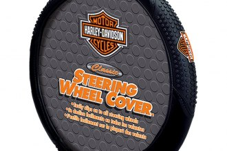 Plasticolor® - Steering Wheel Cover with Harley-Davidson Logo