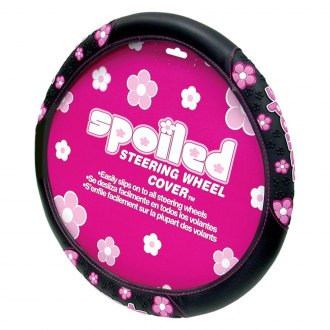 Plasticolor® - Spoiled Flowers Steering Wheel Cover