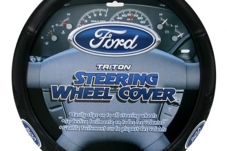 Plasticolor® - Steering Wheel Cover with Blue Ford Triton Logo