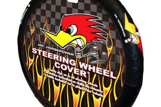 Plasticolor® - Mr. Horsepower Logo Steering Wheel Cover
