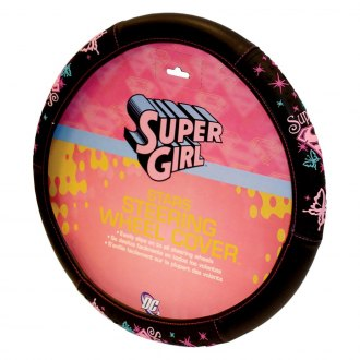 Plasticolor® - Supergirl Stars Steering Wheel Cover