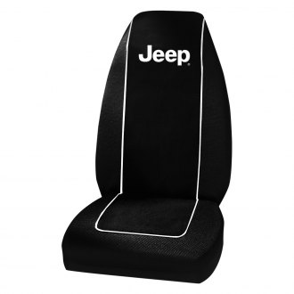 Plasticolor® - Jeep Logo High Back Seat Cover