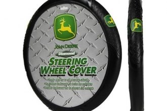 Plasticolor® - John Deere Logo Elite Series Steering Wheel Cover
