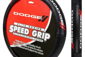 Plasticolor® - Dodge Logo Elite Series Steering Wheel Cover