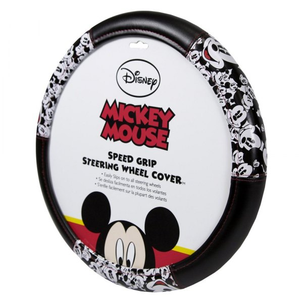 Plasticolor® - Mickey Mouse Faces Steering Wheel Cover