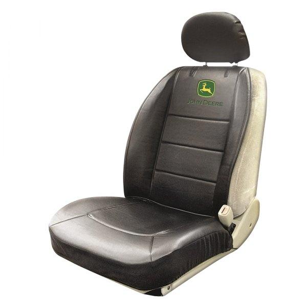 plasticolor 008611r01 john deere logo low back sideless seat cover. Black Bedroom Furniture Sets. Home Design Ideas