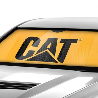 Plasticolor® - CAT Logo Bubble Accordion Sun Shade