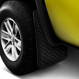 Plasticolor® - Diamond Plate Look Mud Flaps