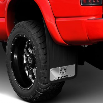 Plasticolor® - Heavy Duty Mud Flaps with Ram Logo