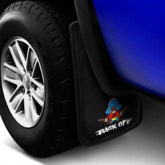 Plasticolor® - Cartoon Characters Mud Flaps with Yosemite Sam Logo