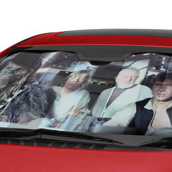 Plasticolor® - Star Wars Millennium Falcon Bubble Accordion Sun Shade