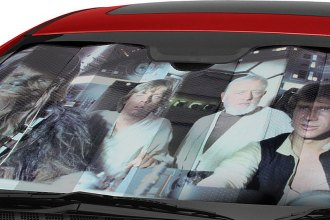 Plasticolor® - Star Wars Millennium Falcon Bubble Accordion Sun Shade bca8f228673