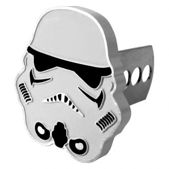 "Plasticolor® - Hitch Cover with Stormtrooper Logo for 1-1/4"" and 2"" Receivers"