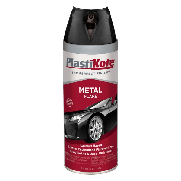 Plastikote 12 Oz Spray Can Metal Flake Paint