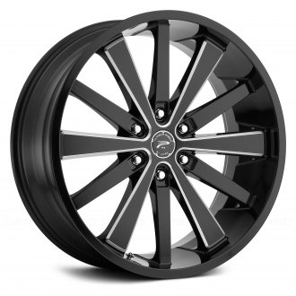 PLATINUM® - 270BM PIVOT Gloss Black with Milled Accents and Clear Coat