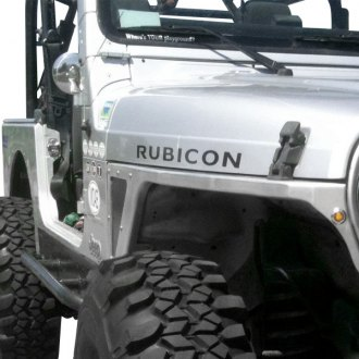 Poison Spyder Customs® - DeFender™ Negative Fender Flares
