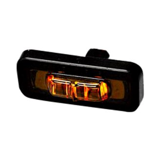 Poison Spyder Customs® - Rectangular Amber LED Side Marker Light