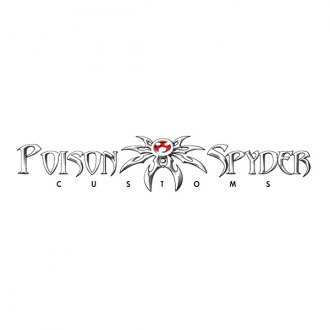 Poison Spyder Customs® - Knifeblade Vinyl Spyder Logo Decal