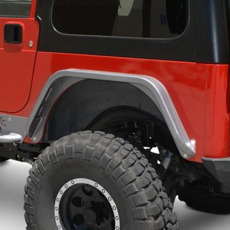 "Poison Spyder Customs® - 3"" Aluminum Bolt-On Rear DeFender™ Fender Flares"
