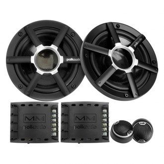 "Polk Audio® - 6-1/2"" 2-Way MM Series 250W Component Speakers"