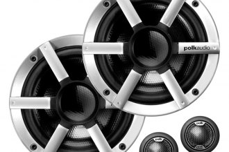 "Polk Audio® - 6-1/2"" MM Series Marine 250W Component Speakers"