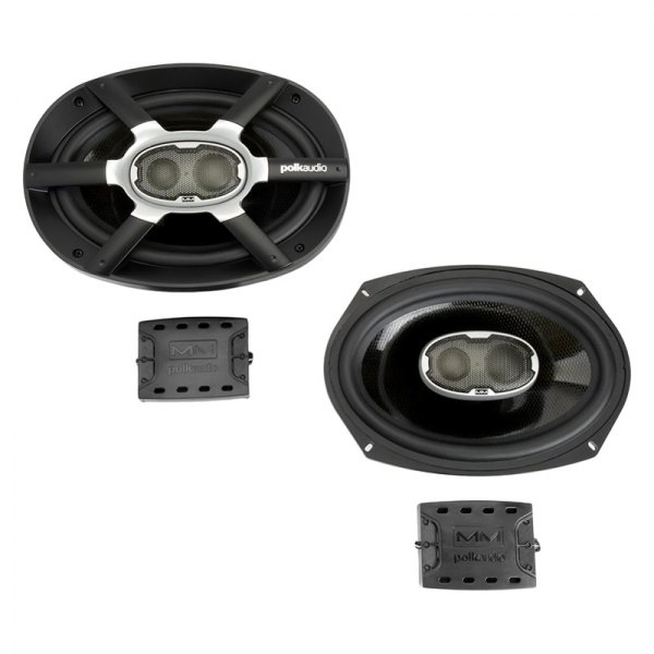 "Polk Audio® - 6X9"" 3-Way MM Series 300W Speakers"