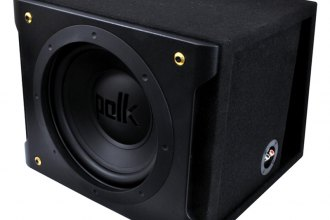 "Polk Audio® - 12"" 720W Slot Ported Subwoofer Box"