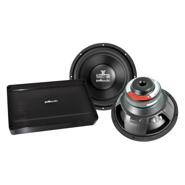 Polk Audio® - 500W Amplifier and Subwoofers Combo Pack