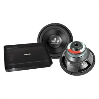 "Polk Audio® - 12"" Subwoofers and Mono 500W Amplifier Combo Pack"