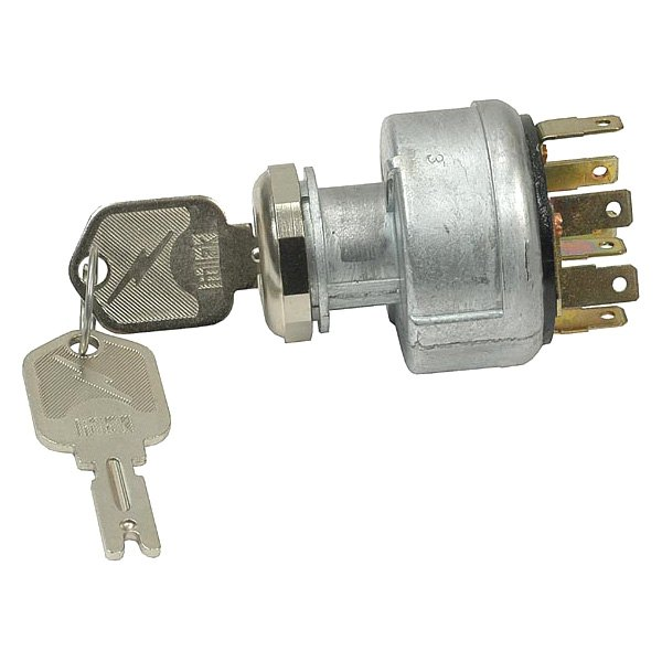 Pollak® - 3-Position Ignition Starter Switch