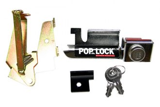 Pop & Lock® - Chrome Manual Tailgate Lock (Metal Handle)