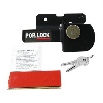 Pop & Lock® - Black Manual Tailgate Lock