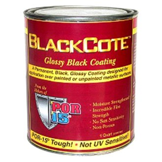 POR-15® - BlackCote™ 1qt. Glossy Black Coating