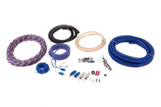 Power Acoustik® AKIT2 - 2 Gauge Amplifier Installation Kit