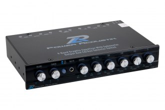Power Acoustik® - Half DIN 4-Band Parametric Equalizer
